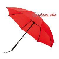 Paraguas grande con amplia gama de colores.