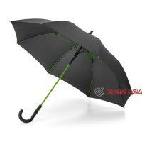 Paraguas varillas de color publicitario.