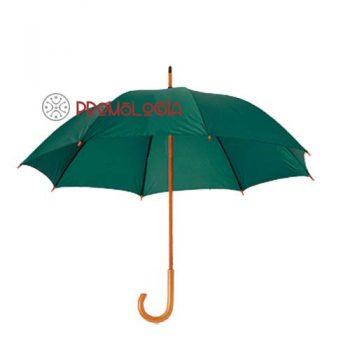 Paraguas de madera promocional