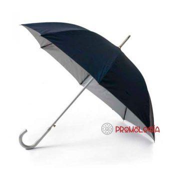 Paraguas con mango de aluminio