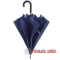 Paraguas extensible antiviento para publicidad de empresas.